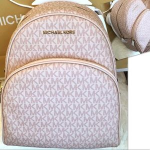 Michael KORS Backpack Abbey Ballet W Shopping Bag